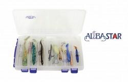 Albastar - 14 Parça Mepps Bluefox Albastar Erma Turna Balıkçılığı Kaşık ve Yem seti