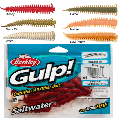 Berkley Gulp Sandworm