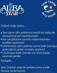 Albastar Tam Takım Hobi Alabalık Olta Seti TTS007 - Thumbnail