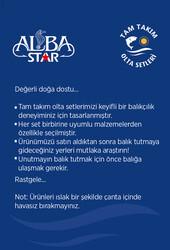 Albastar Tam Takım Hobi Spin Atçek Olta Seti TTS008 - Thumbnail