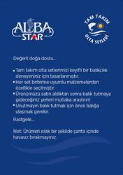 Albastar Tam Takım Usta Kıyı Olta Seti TTS012 - Thumbnail