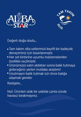 Albastar Tam Takım Usta Lrf Olta Seti TTS021