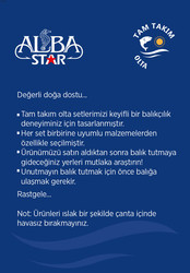 Albastar Tam Takım Usta Lrf Olta Seti TTS022 - Thumbnail
