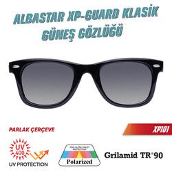 Albastar XP-Guard Klasik Güneş Gözlüğü UV400+Polarize+TR90 - Thumbnail