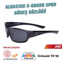 Albastar XP-Guard Spor Güneş Gözlüğü UV400+Polarize+TR90 - Thumbnail