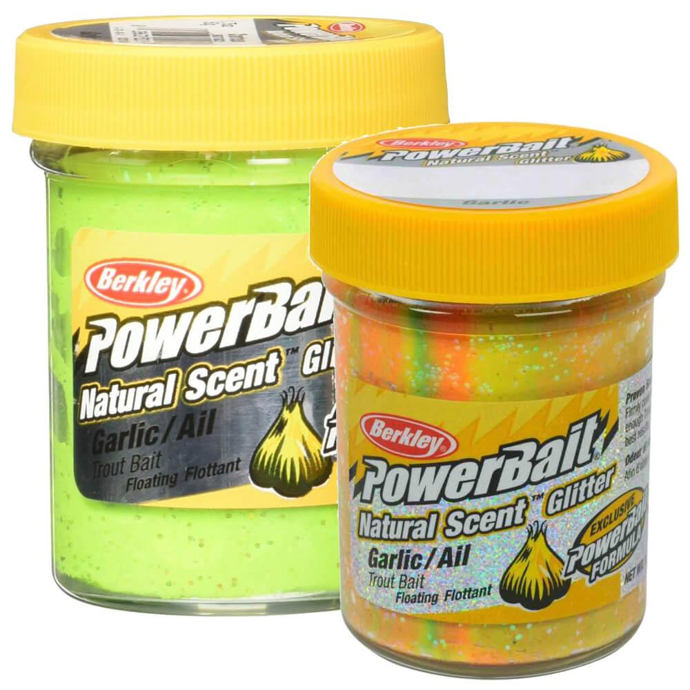 Berkley Powerbait Natural Scent Glitter Garlic Sahte Yemi CAPTAIN AMERICA 50 GR