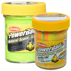 Berkley - Berkley Powerbait Natural Scent Glitter Garlic Sahte Yemi