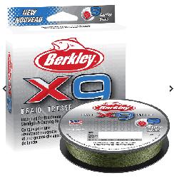 Berkley - Berkley X9 Braid Tresse İp Olta Misinası