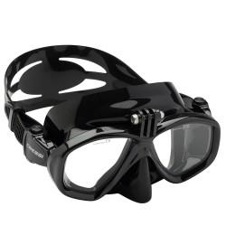 Cressi - Cressi Action Dalış Maskesi Su Altı Kamera Aparatlı