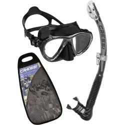 Cressi - Cressi Big Eyes Evolution Maske Alpha Ultra Dry Şnorkel Seti