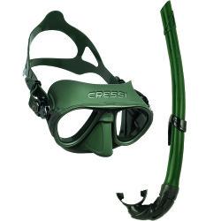 Cressi - Cressi Calibro Maske Corsica Şnorkel Seti
