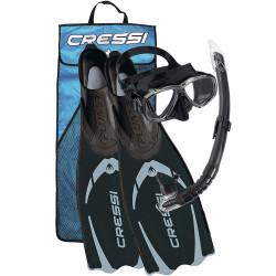 Cressi - Cressi Pluma Palet Maske Şnorkel Seti