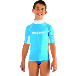 Cressi - Cressi Rash Guard Junior Boy Kısa Kollu T-Shirt