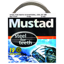 Mustad - Mustad Steel For Teeth Çelik Tel 77376