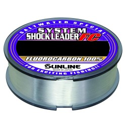 Sunline - Sunline System Shockleader FluoroCarbon Olta Misinası