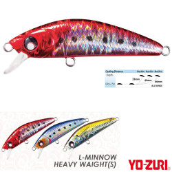 Yozuri - Yozuri L-Minnow Heavy Weight Sinking Sahte Balığı